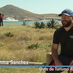 kayak Cabo de Gata Activo en Salud al Día (Canal Sur). Visitamos la Playa de los Genoveses