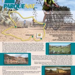 I Ruta cicloturista XX aniversario Parque Natural SCA Kayak Cabo de Gata