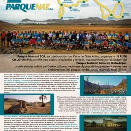 III Ruta cicloturista Parque Natural SCA Kayak Cabo de Gata