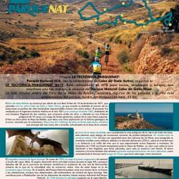 IV Ruta cicloturista Tectónica-ParqueNat 2017 Kayak Cabo de Gata
