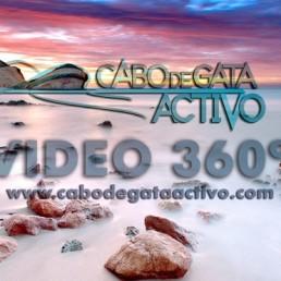 Vídeos en 360º de la actividad de ruta guiada en kayak en Cabo de Gata