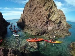 Cabo de Gata Activo kayak y snorkel - rutas guiadas