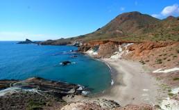 Kayak en Cabo de Gata. Cala Rajá