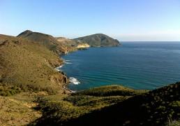 Kayak en Cabo de Gata. Cala de Los Toros