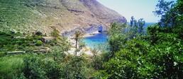 Kayak en Cabo de Gata. Cala de San Pedro