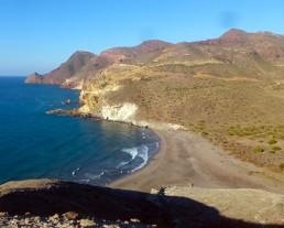 Kayak en Cabo de Gata. Cala de la Media Luna