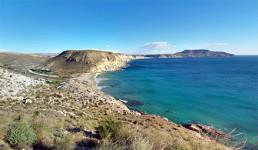Kayak en Cabo de Gata. Cala del Plomo