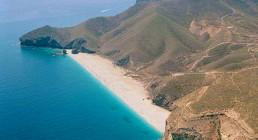 Kayak en Cabo de Gata. Playa de Los Muertos