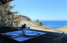 Kayak en Cabo de Gata. Restaurante El Faro