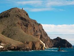 Kayak en Cabo de Gata. Vela Blanca