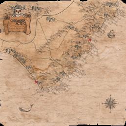 Mapa Cabo de Gata Activo