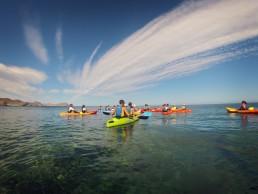 Cabo de Gata Activo kayak y snorkel - oferta rutas guiadas
