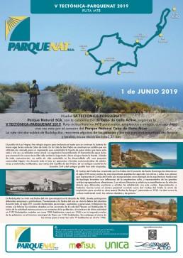 V Ruta cicloturista Tectónica-ParqueNat 2019