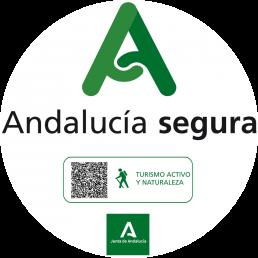 distintivo Andalucia segura para Cabo de Gata Activo
